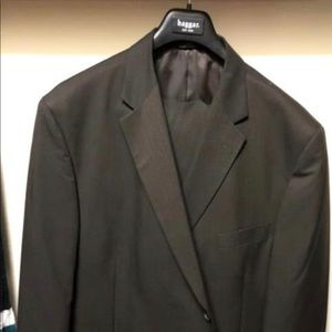 Men's Haggar Brown Suit 52r